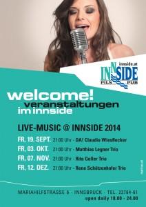Live-Music@Innside Herbst 2014