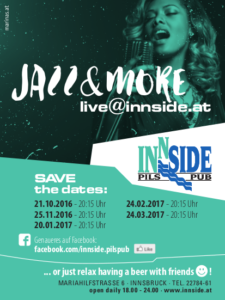 Jazz in Innsbruck Tirol